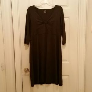 Horny toad, Dark Gray, Stretch Dress, Size Large